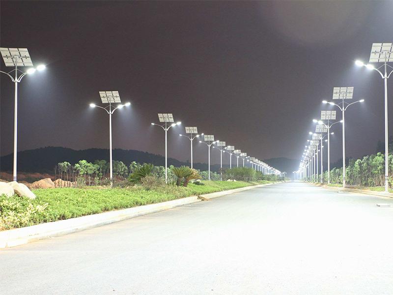 陕西西安太阳能路灯案列