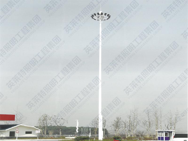 安徽合肥湿地公园高杆灯